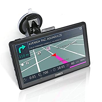 "749 7"" navegador GPS para Coche con World Lifetime Traffic & Maps, estacionamiento en"