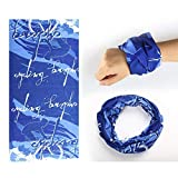 HighlifeS Cycling Motorcycle Head Scarf Magic Headband Multi Bike Turban Scarf Cycling Bicycle Outdoor Sports (A)