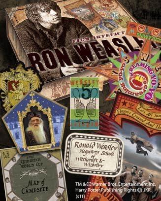 Noble Collection Caja de recuerods de Ron Weasley, Multicolor (59997)