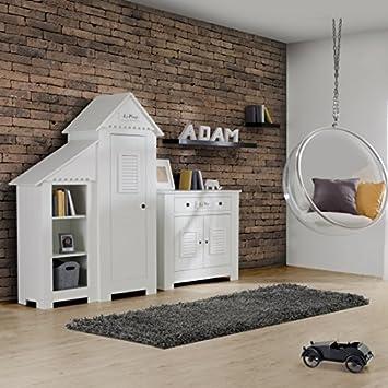 lounge-zone 1-türiger Kinderschrank Kleiderschrank ...