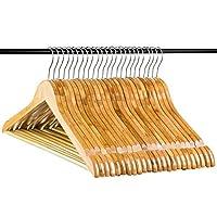 Neaties Standard Bamboo Wood Hangers