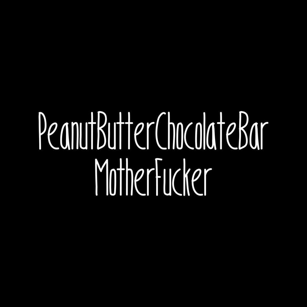 Coto7 PeanutButterChocolateBarMotherFucker Womens Vest