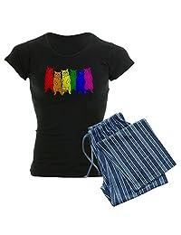 CafePress - Rainbow Cats - Womens Pajama Set