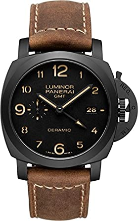 left handed from panerai officine watches luminor chronopassion