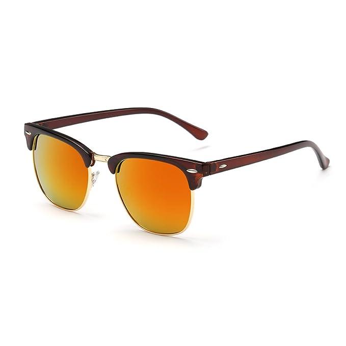 HSNZZPP Hombres Y Mujeres Normales De Sol Polarizadas Tendencia De La Moda De Conducción Del Espejo Antideslumbrante - Gafas De Sol Ultravioleta, ...