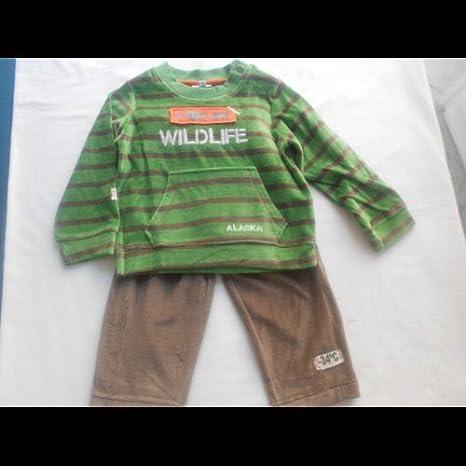 yatsi - Chandal niño verde, talla 6 meses: Amazon.es: Bebé