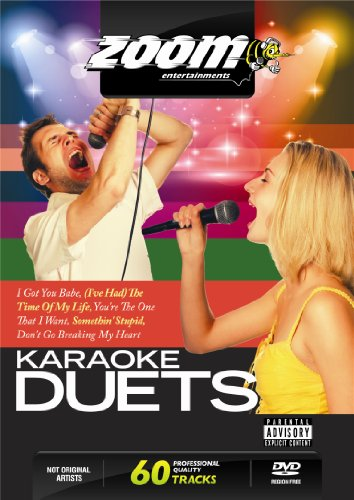 Zoom Karaoke DVD - Karaoke Duets - 60 Songs