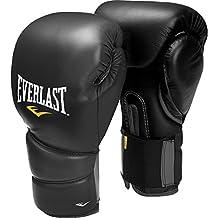 Everlast Muay Thai Protex2 Gloves, 12-Ounce, Black