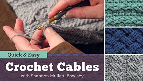Quick & Easy Crochet Cables (Knitting Woven Stitch)