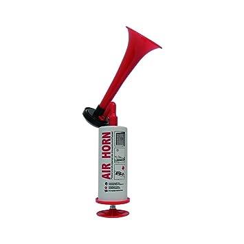 carpoint 0524735 manual air horn - red