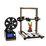 ANET 3D Printer Kit E12 Aluminum Alloy Frame Desktop Printers with Large Resume Print Size 300x300x400MM