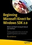 Beginning Microsoft Kinect for Windows SDK