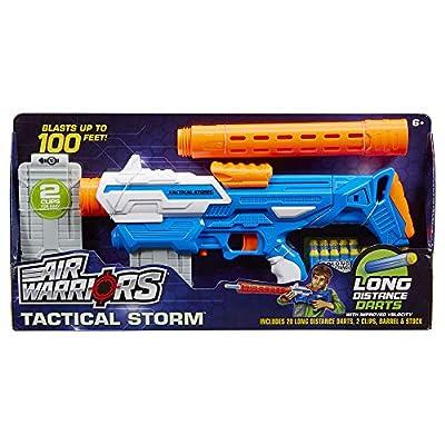 Air Warriors Tactical Storm Dart Blaster: Toys & Games