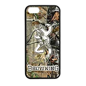Canting_Good Browning Cutter Logo Real Tree Custom Case Shell Skin Case For Sumsung Galaxy S4 I9500 Cover PC (Laser Technology)