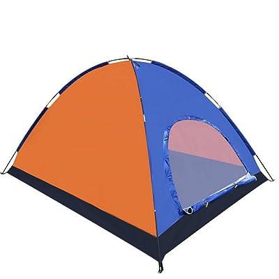 TTYY Tente De Camping En Plein Air 3 ~ 4 Personnes Pêche Pique-Nique Imperméable Alpinisme