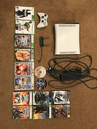 Microsoft Xbox 360 20GB Console White (Certified Refurbished)