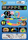Mindscope Twister Tracks Trax 360 Loop 15 (feet) of Neon Glow in the Dark Track with Two Light-Up (Pulse LED) Vehicles Emergency Vehicle Series