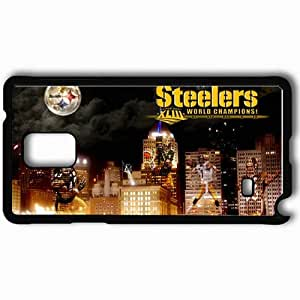 Personalized Samsung Note 4 Cell phone Case/Cover Skin 935 pittsburgh steelers Black by icecream design