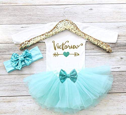 4f990e65 Amazon.com: Personalized Coming Home Outfit Baby Girl Clothes Take ...