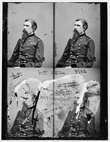Photo: General AB Underwood,United States Army,Federal troop,Union soldier,uniform,1860