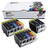 Hi Ink 12 Pack PGI-5 Cli-8 Ink W/ C