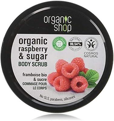 organic body scrub