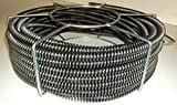 60' x 5/8'' Model S75 Sectional Pipe Drain Cleaning Cable fits RIDGID C8 Cable