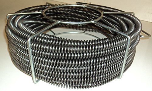 60' x 5/8'' Model S75 Sectional Pipe Drain Cleaning Cable fits RIDGID C8 Cable by BLUEROCK TOOLS