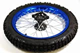 12L 14'' BLUE FRONT RIM WHEEL HONDA CRF50 70 SSR SDG 107 15mm WM08B