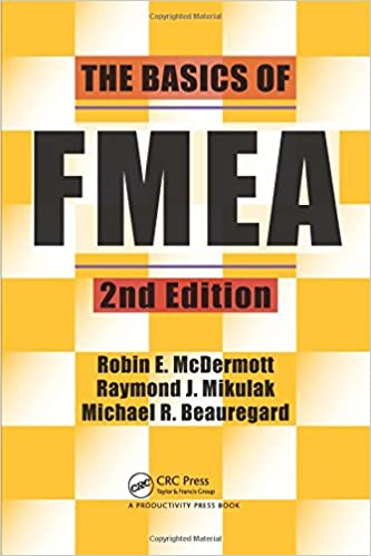 The basics of FMEA book