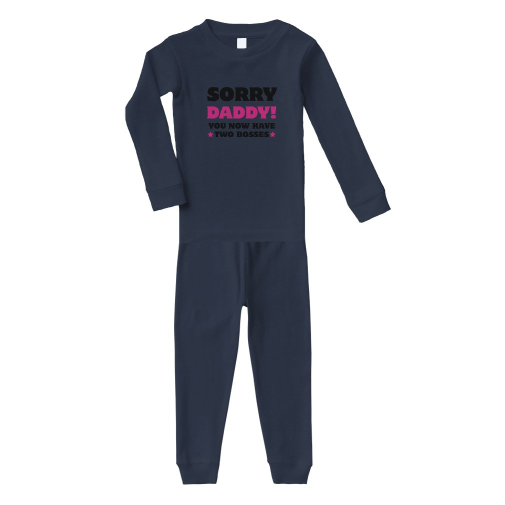 UlanLi Infant Tee Daddys Mini Baby Organic Short Sleeve T-Shirt White