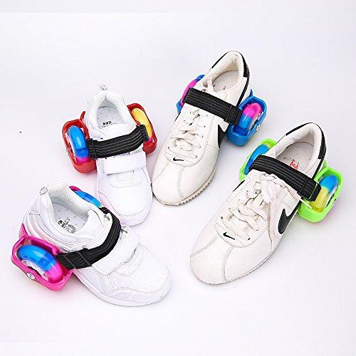 U.Buy - Zapatillas de skateboarding de Caucho para niño verde