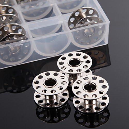 25 bobinas de metal para máquinas de coser del hogar, las bobinas ...