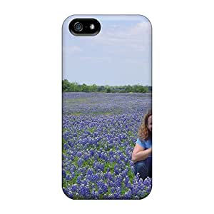 Iphone High Quality Tpu Case/ Blue Bonnets ToabzDy3974luvOf Case Cover For Iphone 5/5s