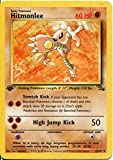 Wizards of the Coast Pokemon Fossil 1st Edition Rare Card #22 Hitmonlee