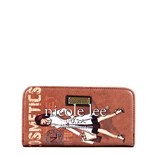 nicole-lee-nicole-lee-vinatge-print-wallet-card-case-cosmetics-one-size