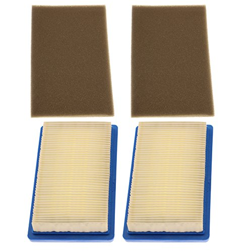 - HIPA (Pack of 2) 751-10298 951-10298 Air Filter Pre Cleaner for MTD 11A 12A Series Lawn Mower