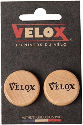 VELOX(ヴェロックス) WOODEN CORK BAR PLUGS コルクバーエンドプラグ 2個入 V30CB02