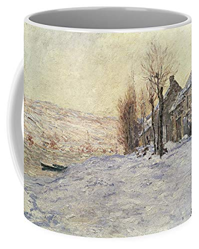 (KPSheng Lavacourt Under Snow 11 Ounces Unique Coffee Mug,Coffee Cup Inspirational gifts)