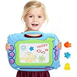 Magnetic Drawing Board Erasable For Kids, Colorful Area Magna Sketching Doodle Writing Board Pad Learning Educational Toys