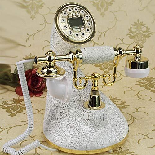 Zhangmeiren Teléfono con Cable, Tocadiscos, Teléfono, Antiguo ...
