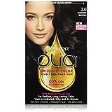 Garnier Olia Oil Powered Permanent Hair Color, 3.0 Darkest Brown (Packaging May Vary)