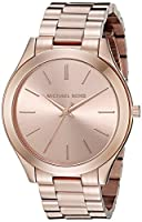 Michael Kors Women's Runway Rose Gold-To...