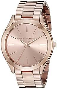 Michael Kors MK3197 - Reloj de cuarzo con correa de acero inoxidable para mujer, color rosa