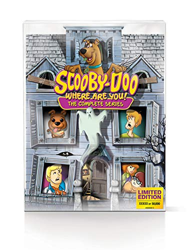 Scooby-Doo, Where Are You!: The Complete Series Limited Edition 50th Ann Mystery Mansion (Blu-ray) (Original Alvin And The Chipmunks Cartoon Episodes)