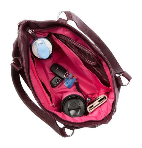 Mia Tui, la bolsa de cambio de pañal, Brown (Negro, Azul Acero, chocolate)