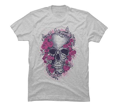 Grateful Dead Men's 3X-Large Athletic Heather Graphic T (Grateful Dead Athletic T-shirt)