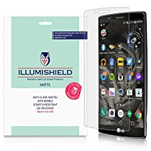 iLLumiShield - LG G4 Matte Screen Protector with Lifetime Replacement Warranty / Anti-Glare HD Clear Film / Anti-Bubble & Anti-Fingerprint / Premium Japanese High Definition Invisible Crystal Shield - [3-Pack] Retail Packaging