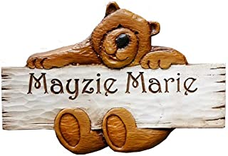 product image for Personalized Teddy Bear Kids Room Sign