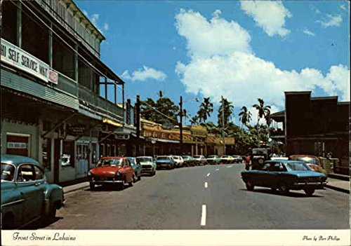 Front Street in Lahaina Maui, Hawaii Original Vintage ()